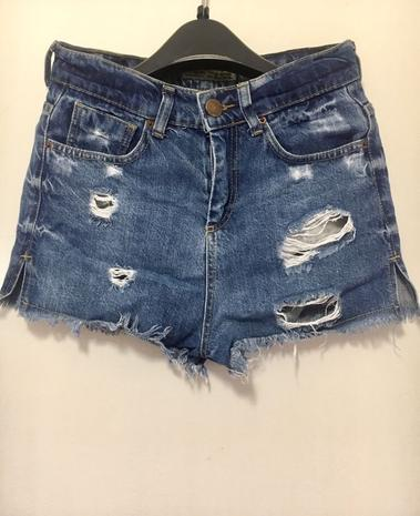 Джинсовые шорты Американка — фотография 1