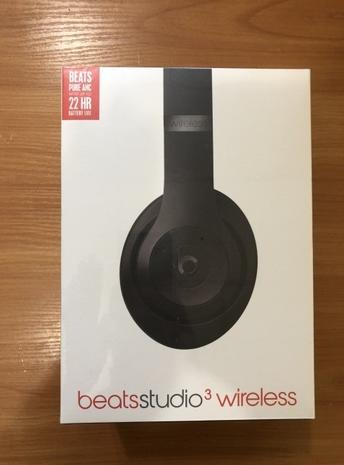 Наушники Beats Studio 3 wireless mate black