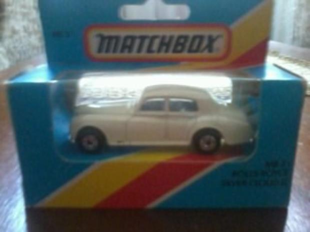 Продам модель автомобиля Роллс-Ройс Silver Cloud2 фирмы Matchbox