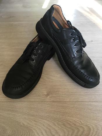 Туфли кожаные мужские Eссо, в них ноги не устают, р. 44-45 (US 11,5)