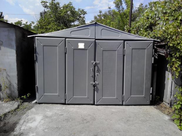 Продам капитальный металлический гараж на АМЛ №9 — фотография 1