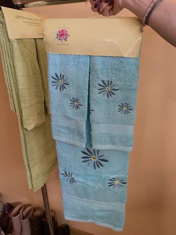 Комплект из 3х и 2х полотенец