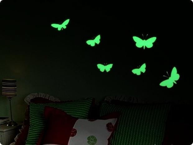 Краски с автономным эффектом свечения от производителя — фотография 1