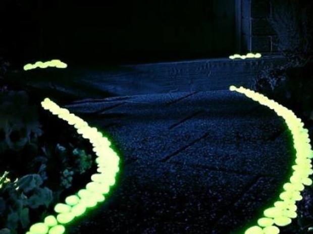 Мраморная крошка светящаяся в темноте — фотография 1