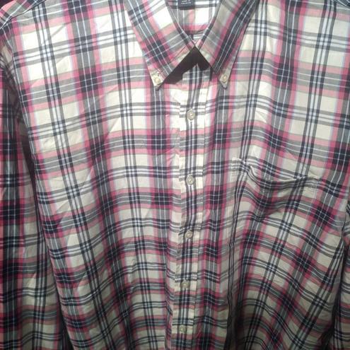 Рубашка мужская клетка  XL — фотография 1