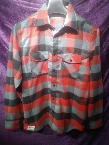 Рубашка мужская красная XL