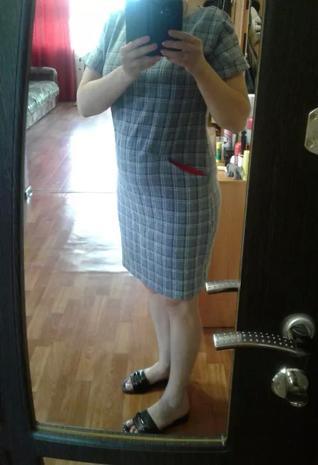 Продам  платье лен.