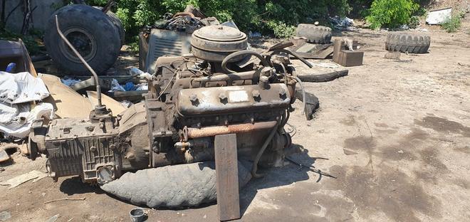 Двигатель ямз238