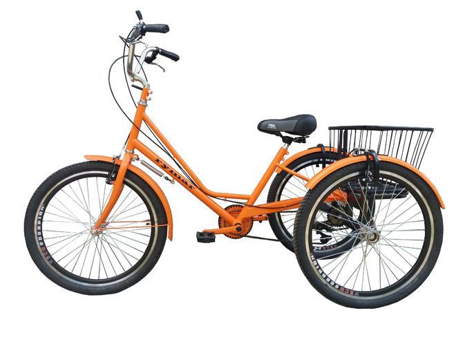 Трехколесные велосипеды для взрослых — фотография 1