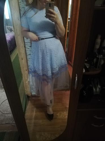 Нежное и романтичное платье