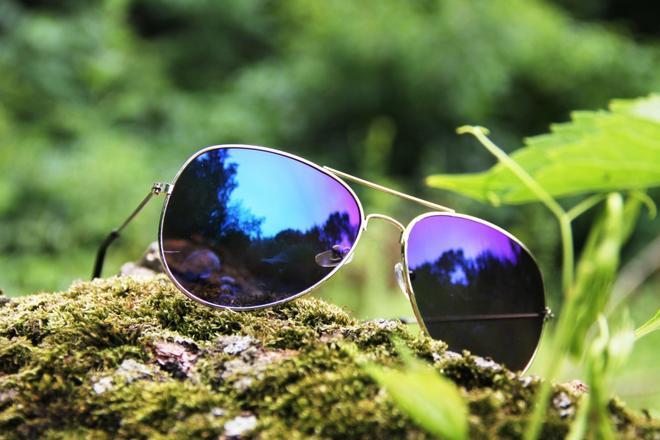 Солнцезащитные очки Aviator — фотография 1
