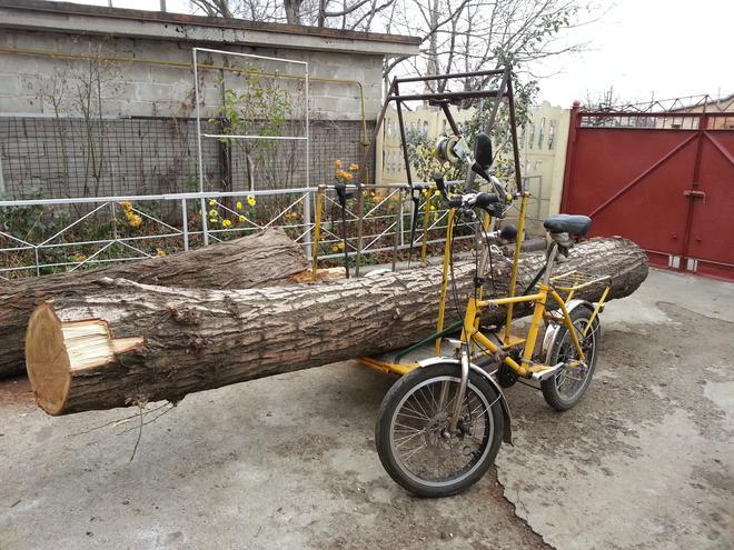 Велосипед грузовой — фотография 1