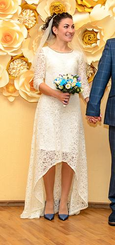 Свадебное платье б/у — фотография 1