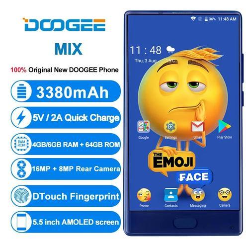 Смартфон Doogee Mix — фотография 1