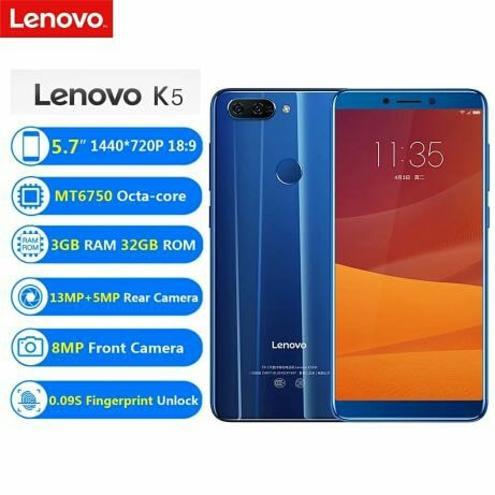 Смартфон Lenovo K5 play — фотография 1