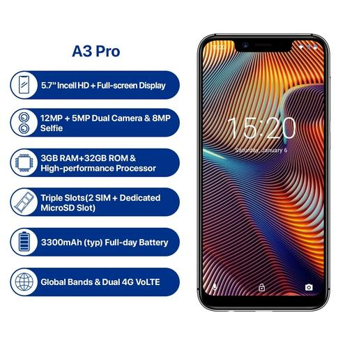 Смартфон Umidigi A3 Pro — фотография 1