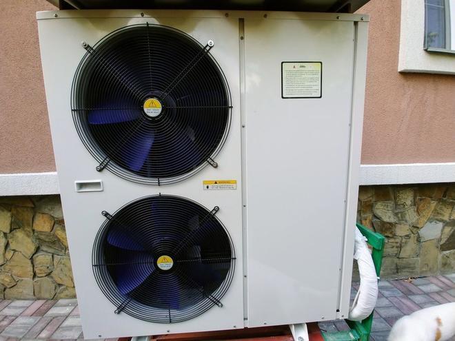 Инверторный тепловой насос