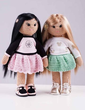 Кукла вязаная — фотография 1