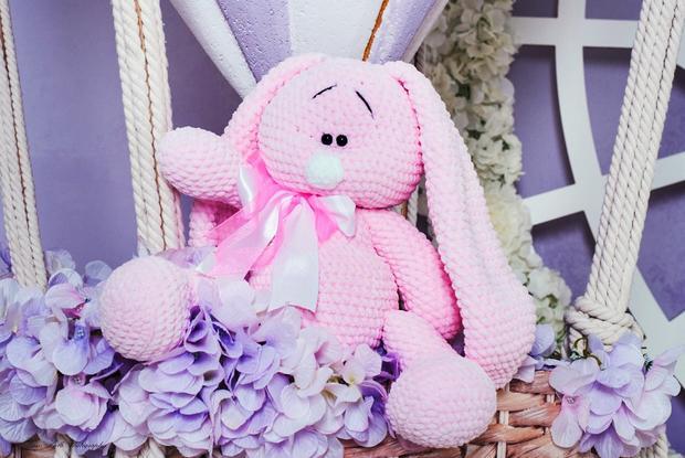 Плюшевый заяц — фотография 1