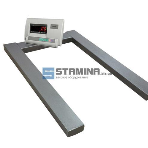 Паллетные весы ВПД-П 1200х800 мм - 2 т