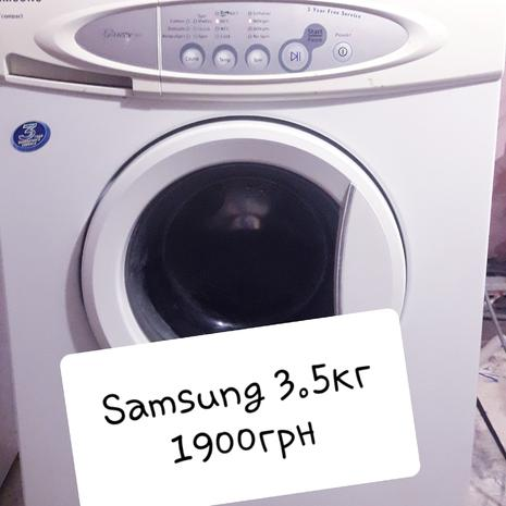 Стиральная машина Samsung 3.5кг. Гарантия. Доставка.
