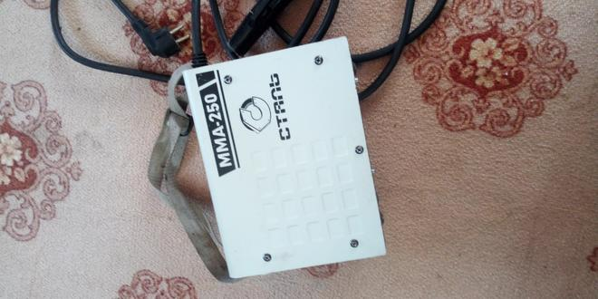 Инвекторная сварка СТАЛЬ ММА 250 — фотография 1